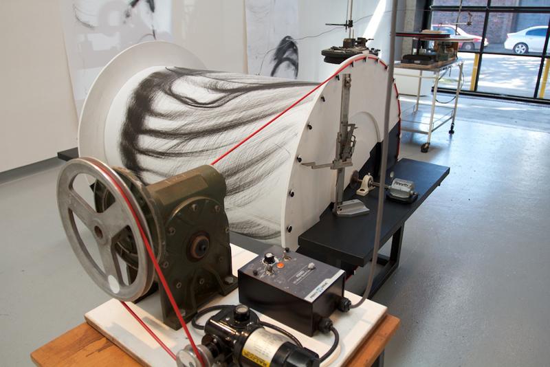 Lunar Solar Drawing Machine by Cameron Robbins